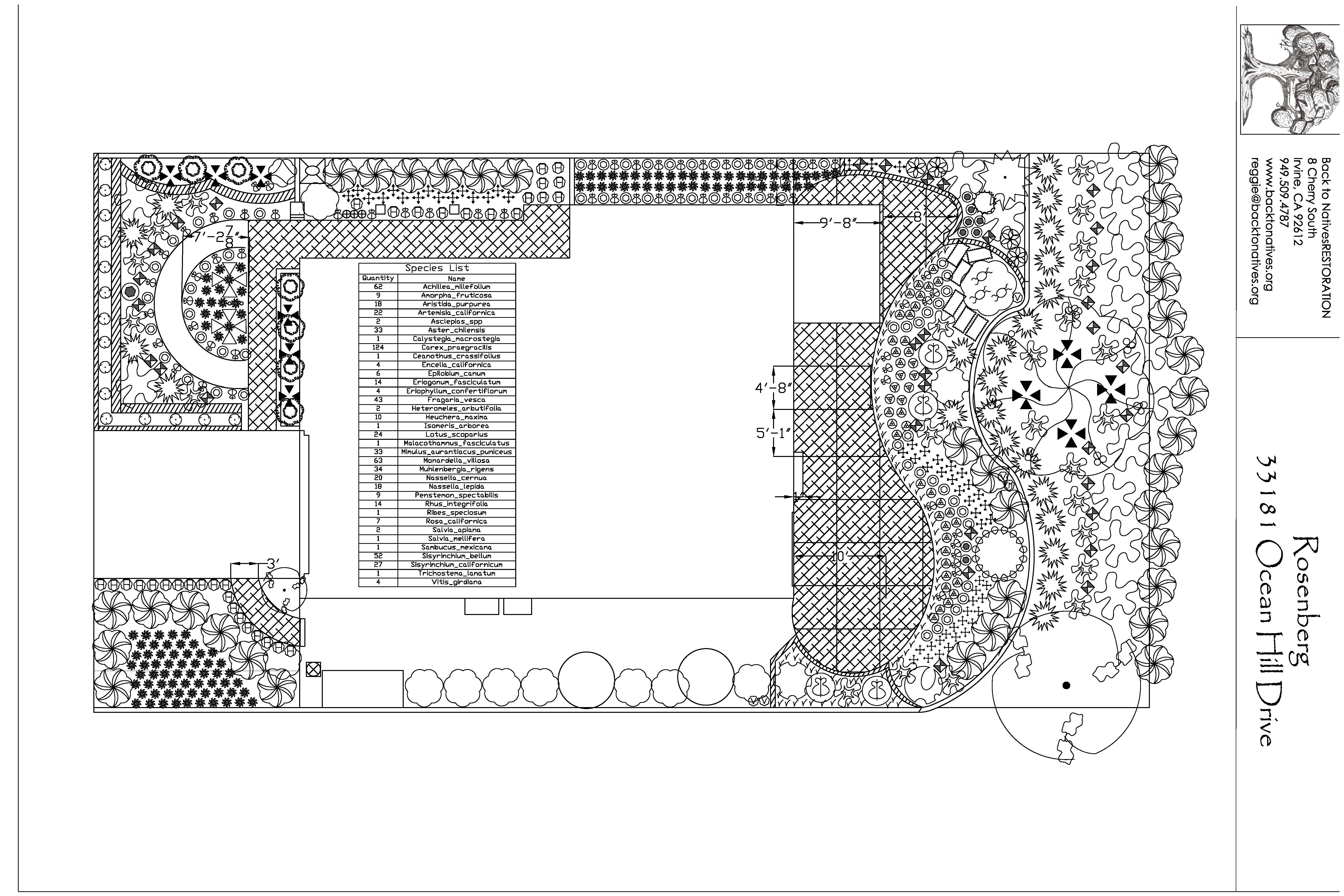 Landscape Design Services Deposit