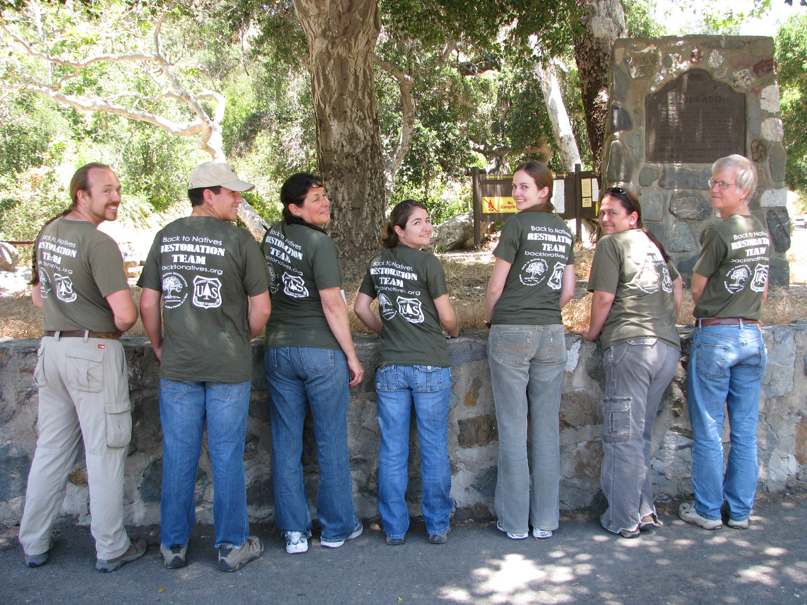 United States Forest Service & Back to Natives Restoration Training Program GreenShirt Volunteer Refresher Registration